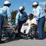 金武町と在日米海兵隊の合同訓練