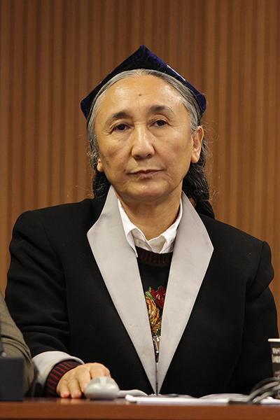 ウイグル民族運動指導者ラビヤ・カディール女史